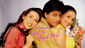 Netflix box art for Dil To Pagal Hai