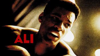 Netflix box art for Ali