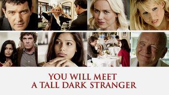 Netflix box art for You Will Meet a Tall Dark Stranger