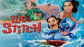 Netflix box art for Lilo & Stitch