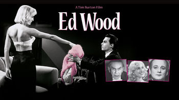 Netflix box art for Ed Wood