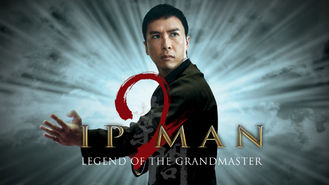 Netflix box art for Ip Man 2
