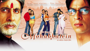 Netflix box art for Mohabbatein