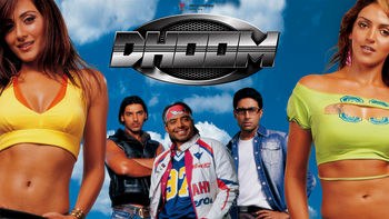 Netflix box art for Dhoom