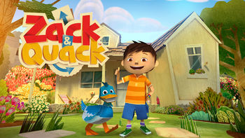 Netflix box art for Zack and Quack - Season 1