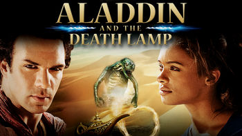 Netflix box art for Aladdin and the Death Lamp