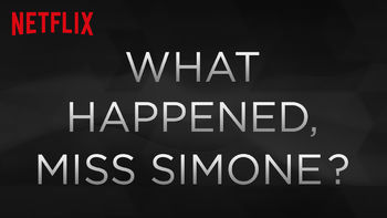 Netflix Box Art for What Happened, Miss Simone?