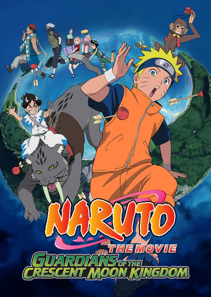 Naruto the Movie 3: Guardians of the Crescent Moon Kingdom Netflix PR (Puerto Rico)