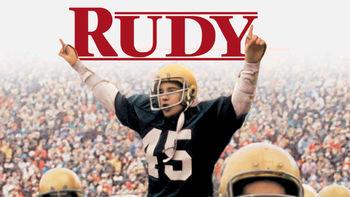 Netflix box art for Rudy