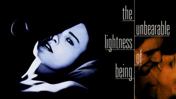 Netflix box art for The Unbearable Lightness of Being