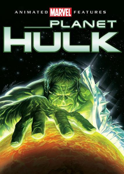 Planet Hulk Netflix BR (Brazil)