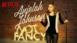 Netflix box art for Anjelah Johnson: Not Fancy