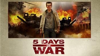 Netflix box art for 5 Days of War