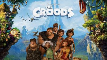 Netflix box art for The Croods