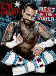 WWE: CM Punk: Best in the World Poster