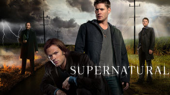 Netflix box art for Supernatural - Season 8