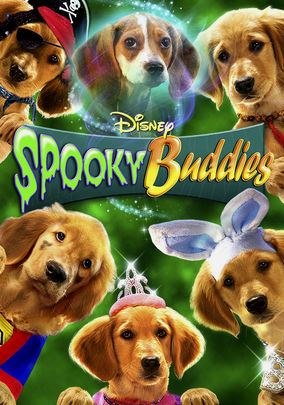 Netflix box art for Spooky Buddies