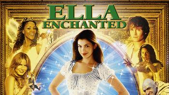 Netflix box art for Ella Enchanted