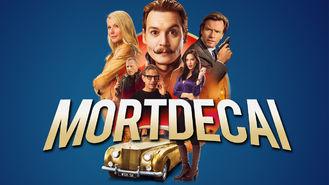Netflix box art for Mortdecai