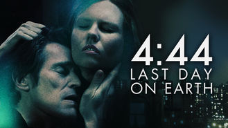 Netflix box art for 4:44: Last Day on Earth