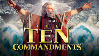 Netflix box art for The Ten Commandments
