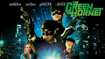 Netflix box art for The Green Hornet