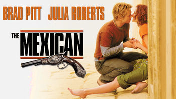Netflix box art for The Mexican