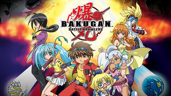Netflix box art for Bakugan: Battle Brawlers - Season 1