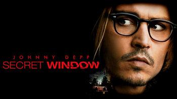 Netflix box art for Secret Window
