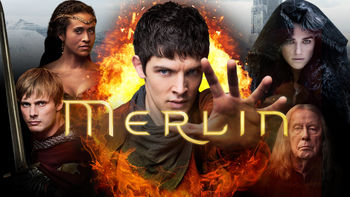 Netflix box art for Merlin - Season 4