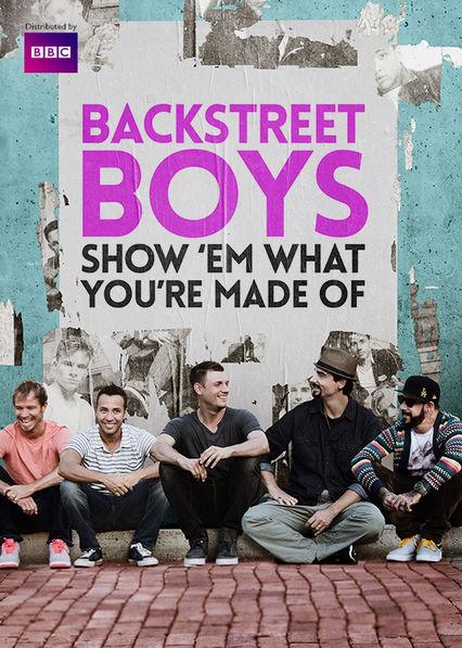 Backstreet Boys: Show 'Em What You're Made Of Netflix AR (Argentina)