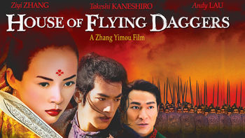 Netflix box art for House of Flying Daggers