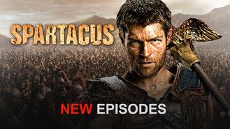 Netflix box art for Spartacus - Season War of the Damned