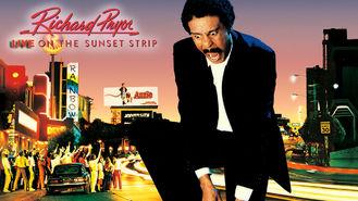 Netflix box art for Richard Pryor: Live on the Sunset Strip