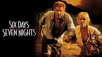 Netflix box art for Six Days, Seven Nights