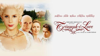 Netflix box art for Triumph of Love