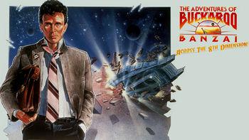 Netflix box art for The Adventures of Buckaroo Banzai