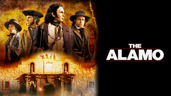Netflix box art for The Alamo