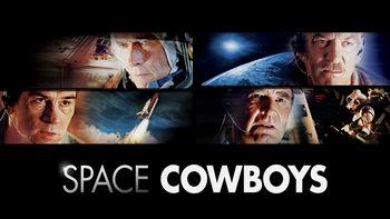 Netflix box art for Space Cowboys