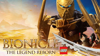 Netflix box art for Bionicle: The Legend Reborn