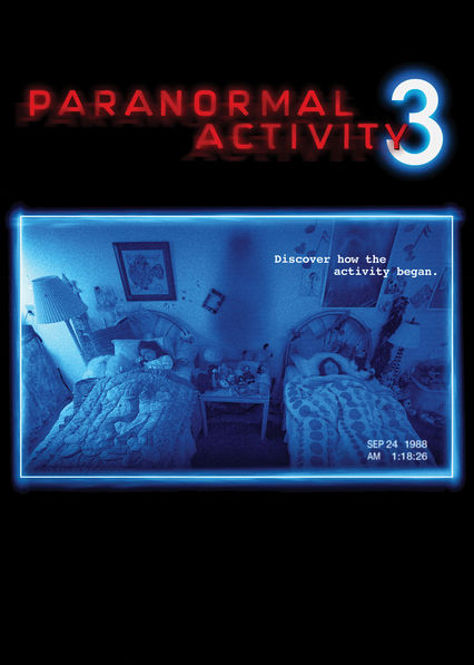 Paranormal Activity 3 Netflix AR (Argentina)