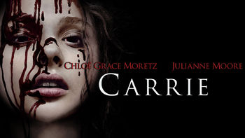 Netflix box art for Carrie