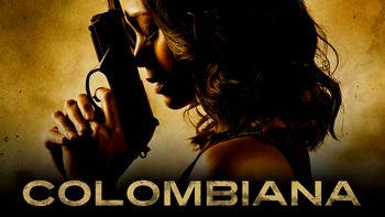 Netflix box art for Colombiana