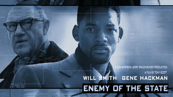 Netflix box art for Enemy of the State
