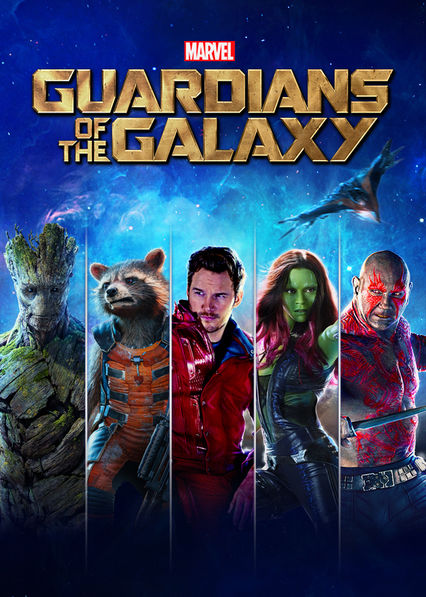 Guardians of the Galaxy Netflix AR (Argentina)