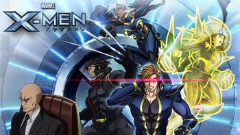 Netflix box art for Marvel Anime: X-Men - Season 1