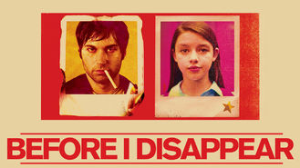 Netflix Box Art for Before I Disappear