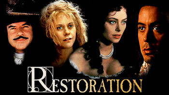 Netflix box art for Restoration