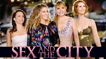 Netflix box art for Sex and the City: The Movie