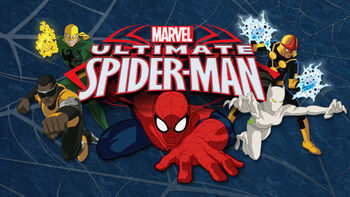 Netflix box art for Ultimate Spider-Man - Season 1